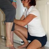 Supporting leg strengthening