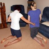 Facilitation of hip extension