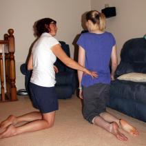 Faciltation of hip extension