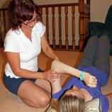 Eccentric triceps exercise 2