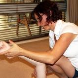 Eccentric triceps exercise 1